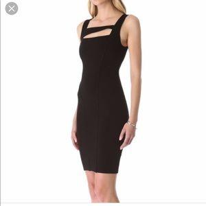 Black Helmut form fitting dress size medium